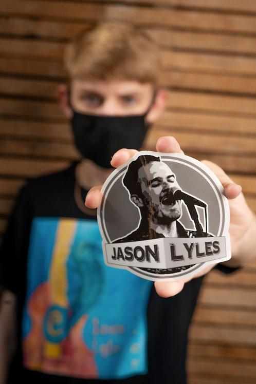 Jason Lyles sticker