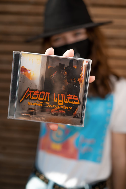 Jason Lyles and the Sonic Avatars CD