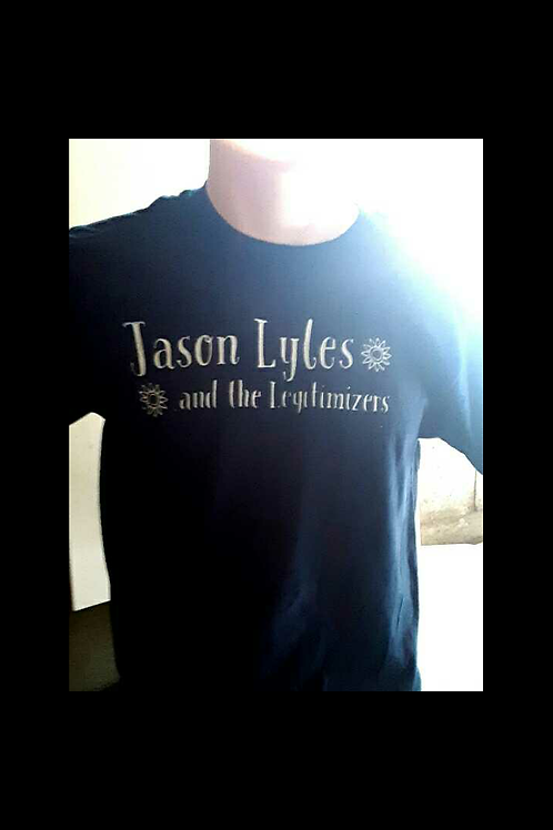 Jason Lyles and the Legitimizers Band T-shirt
