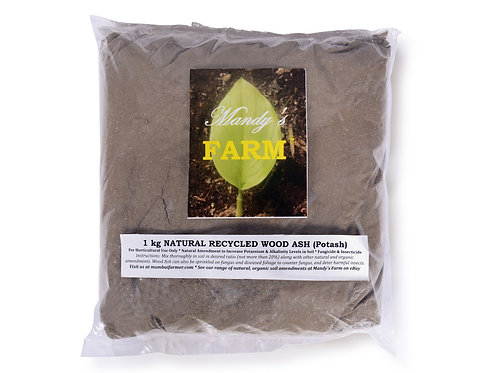 NATURAL RECYCLED WOOD ASH/POTASH