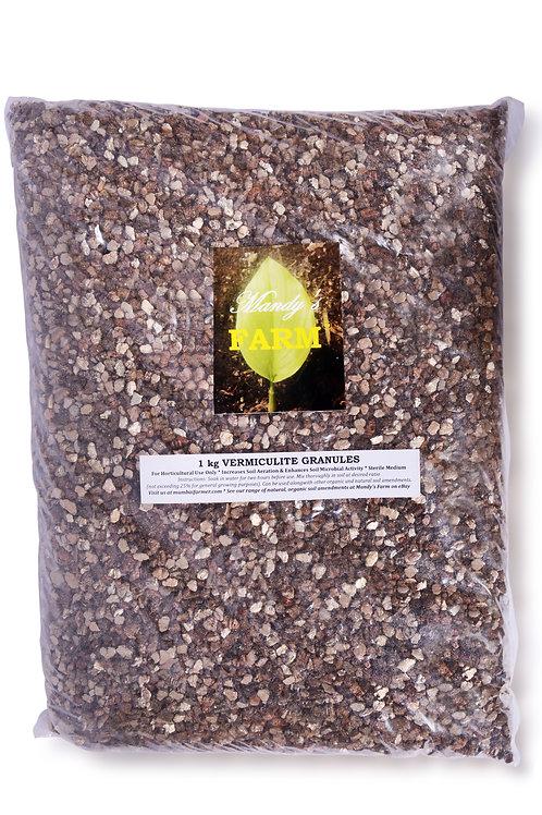 1 kg ASBESTOS-FREE VERMICULITE GRANULES