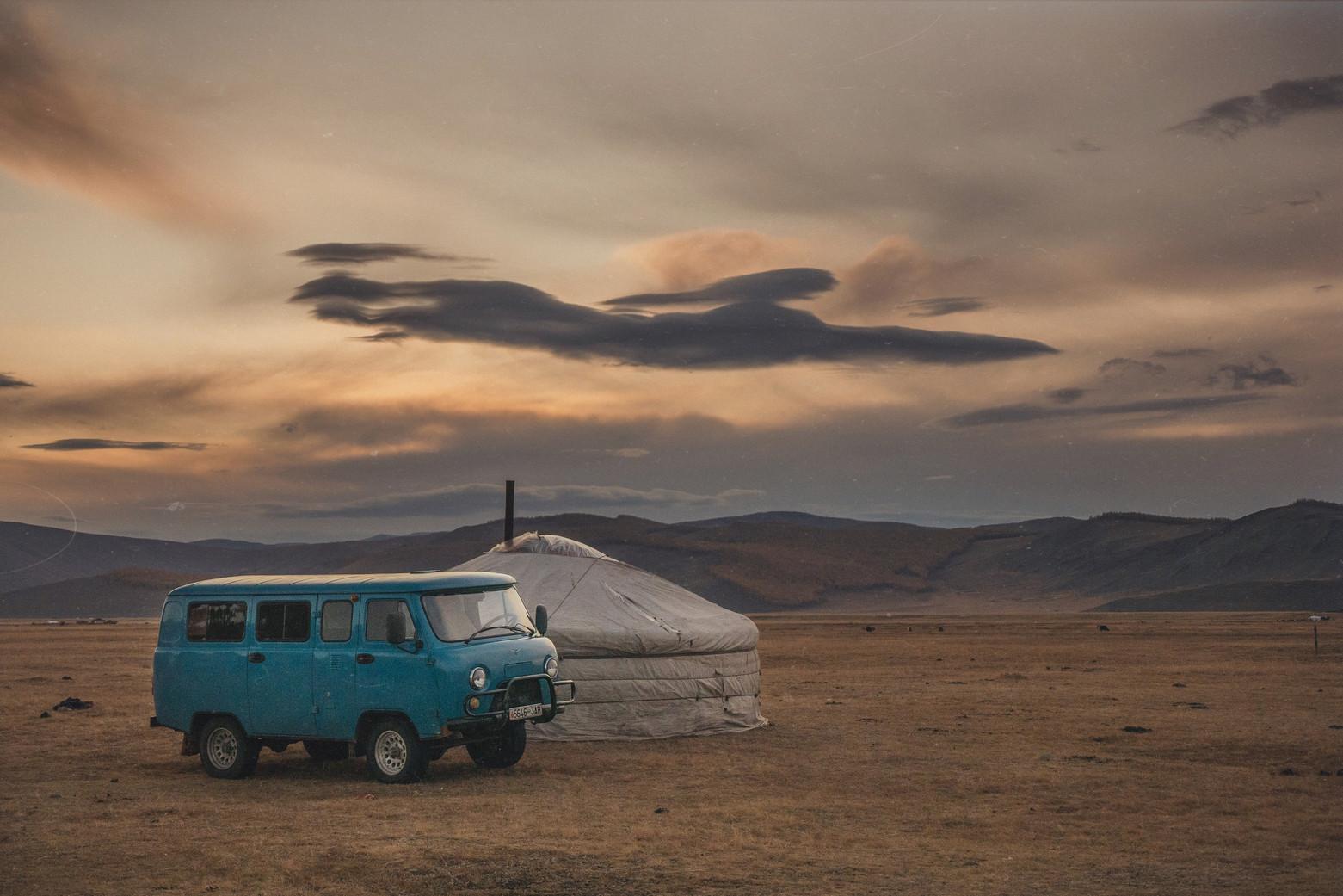 Mongolie et vanlife