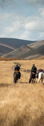 Les steppes à cheval