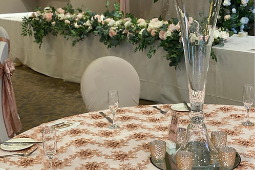 Pink Sparkle Table Overlay