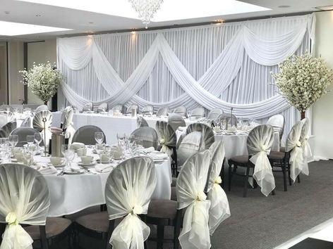 Large wedding backdrop