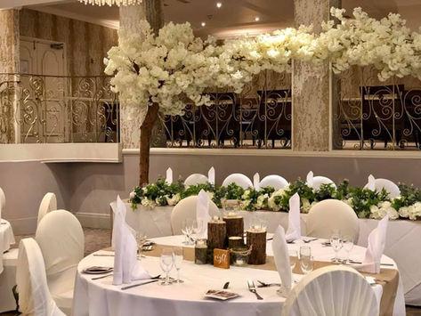 canopy tree, canopy tree hire, wedding arch hire, wedding arch decor, albrighton hall wedding venue,