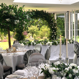 wedding blossom tree centrepiece