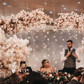 Canopy tree wedding