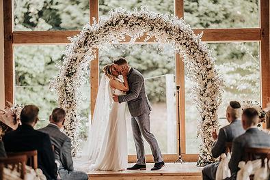 wedding arch, blossom arch,