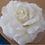 Thumbnail: Vintage Flower Clip - Ivory