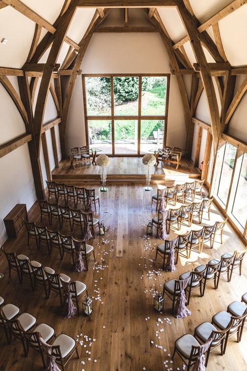 mill barns venue decor