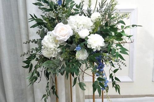 Dusky blue arrangement