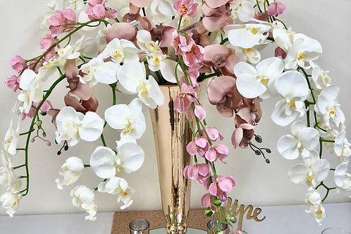 Orchid Filled Vase