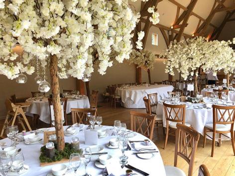 ivory blossom trees, blossom tree hire, blossom tree centrepieces, blossom tree wedding decorations, perfectly unique occasiosn, asain wedding decorations,