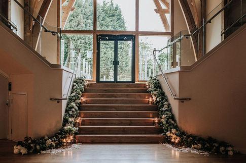 stair garlands