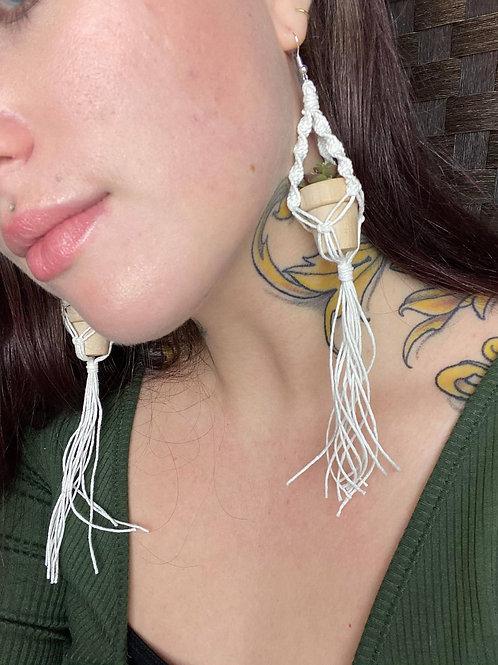 Plant Hanger Earrings