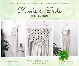 Virtual Knots & Shots: Irish Edition