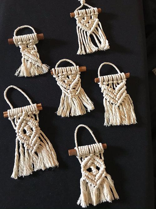 Macrame Mini Ornaments