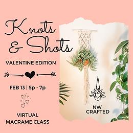 Virtual Knots & Shots: Valentine Edition