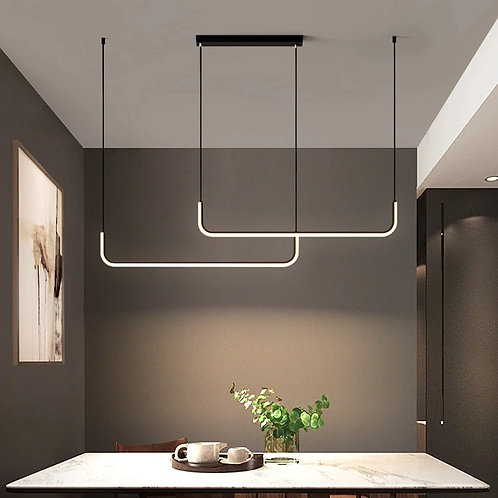 Nordic Duo Linea  Modern Light Fixture