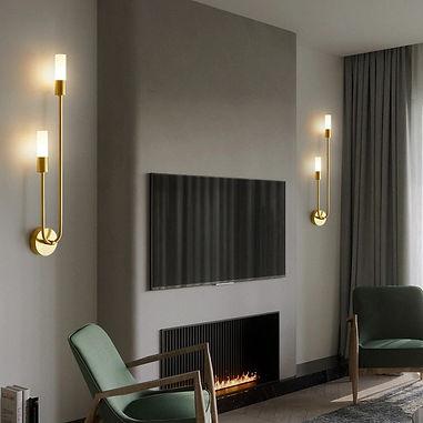Plaid Sheli LED Wall Lamp