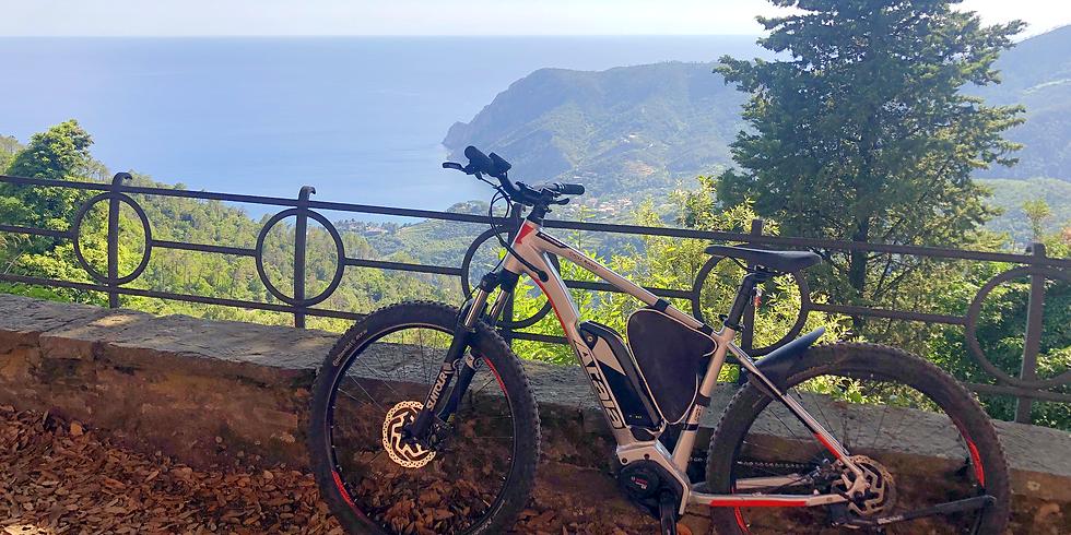 In E-bike sull'Alta Via delle 5 Terre