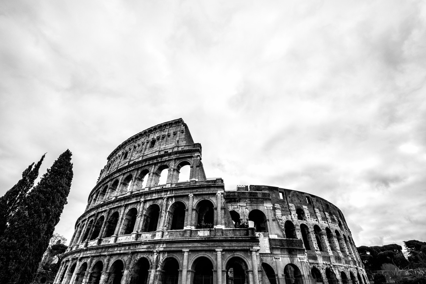 Rome BlackAndWide