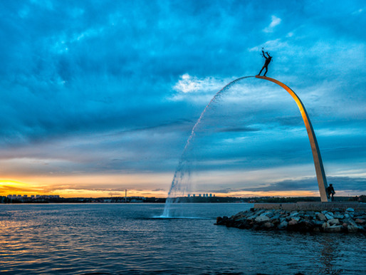 About the statue at Nacka Strand