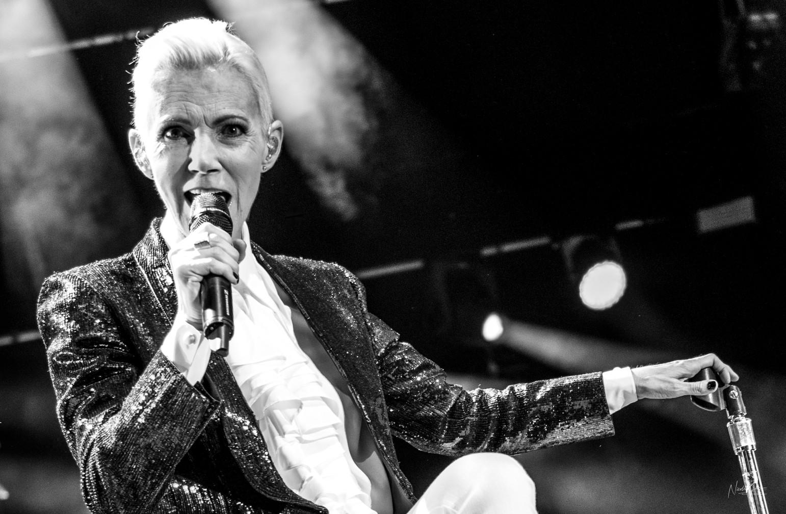 Marie Fredriksson of Roxette