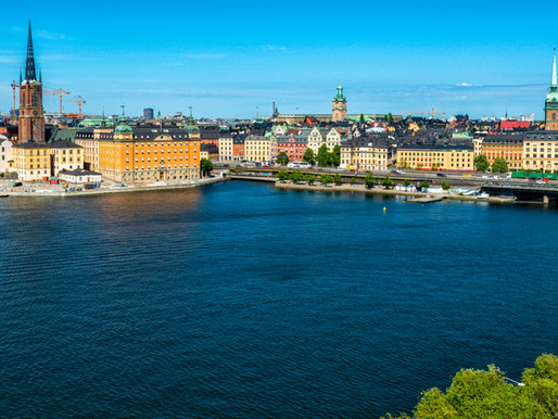 About the best view over Stockholm
