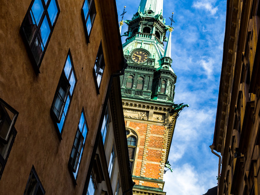 About the bells at Tyska kyrkan