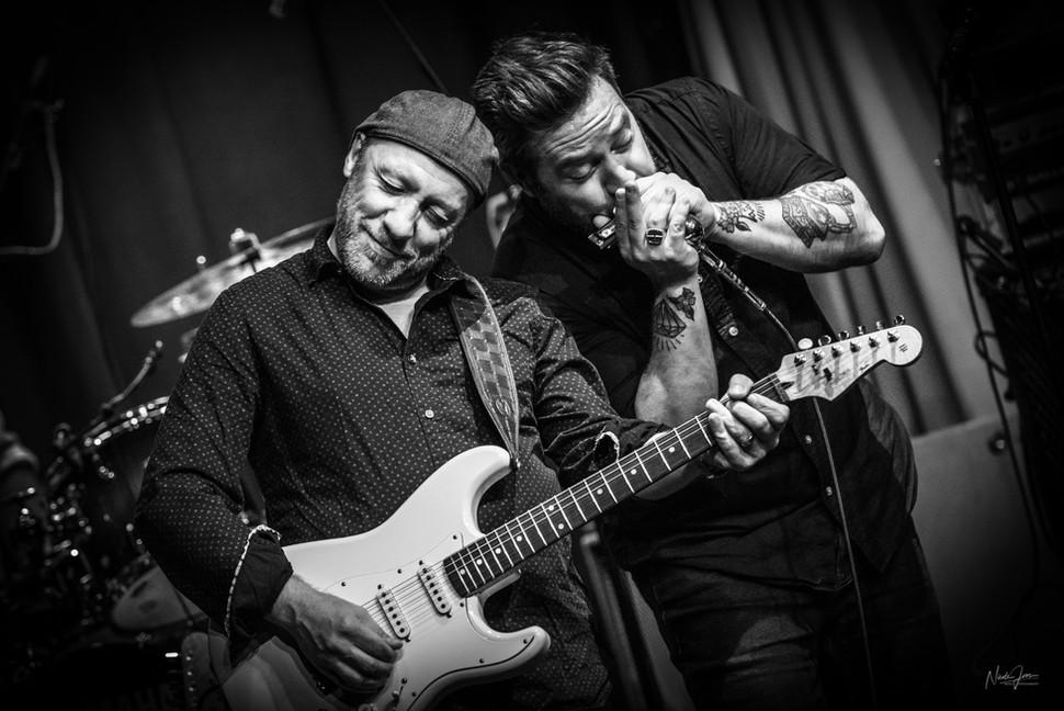 Tony D and Steve Marriner of MonkeyJunk