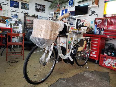 自転車もがんばっております💪 😊只今!春の新学生さん応援キャンペーン実施中です! 新車ヤマハPAS WITH最新型の(2021年モデル)在庫あります。