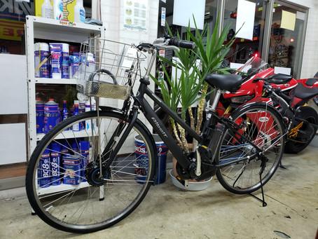 祝!新車ブリヂストン電動自転車 アルベルトe 納車です!O様有り難うございました。