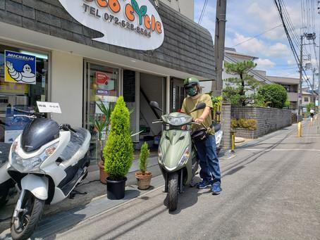 祝🎉T様✨新車ヤマハアクシスZ納車です!有り難うございました。