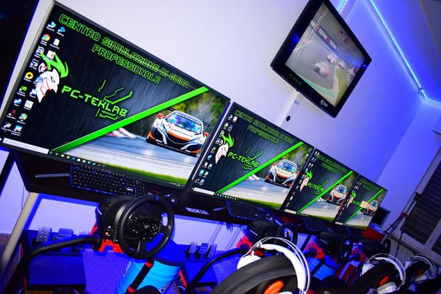 sala simulazione di guida