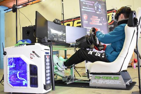 Evento SimRacing PC-Teklab sul circuito di Franciacorta