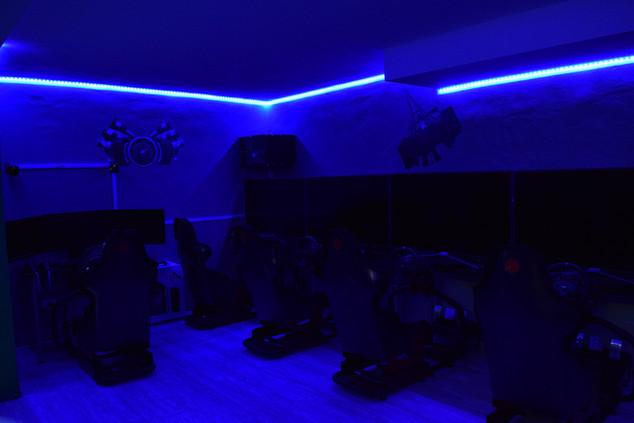 Sala lan PC-Teklab Milano, gaming