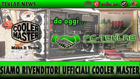 PC-TEKLAB diventa rivenditore ufficiale Cooler Master.
