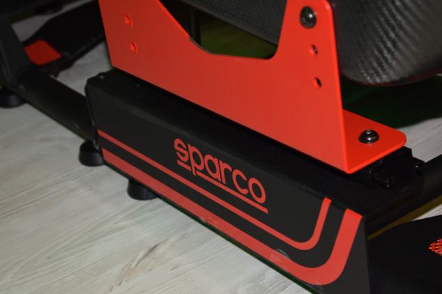 Sparco Gaming, Simulatori di guida e sala LAN