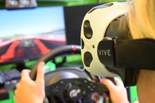 La simulazione di guida PC-Teklab con realtà virtuale per i tuoi eventi!