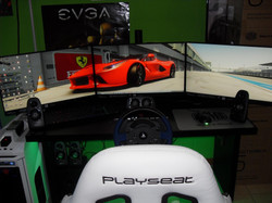 Real driving simulator