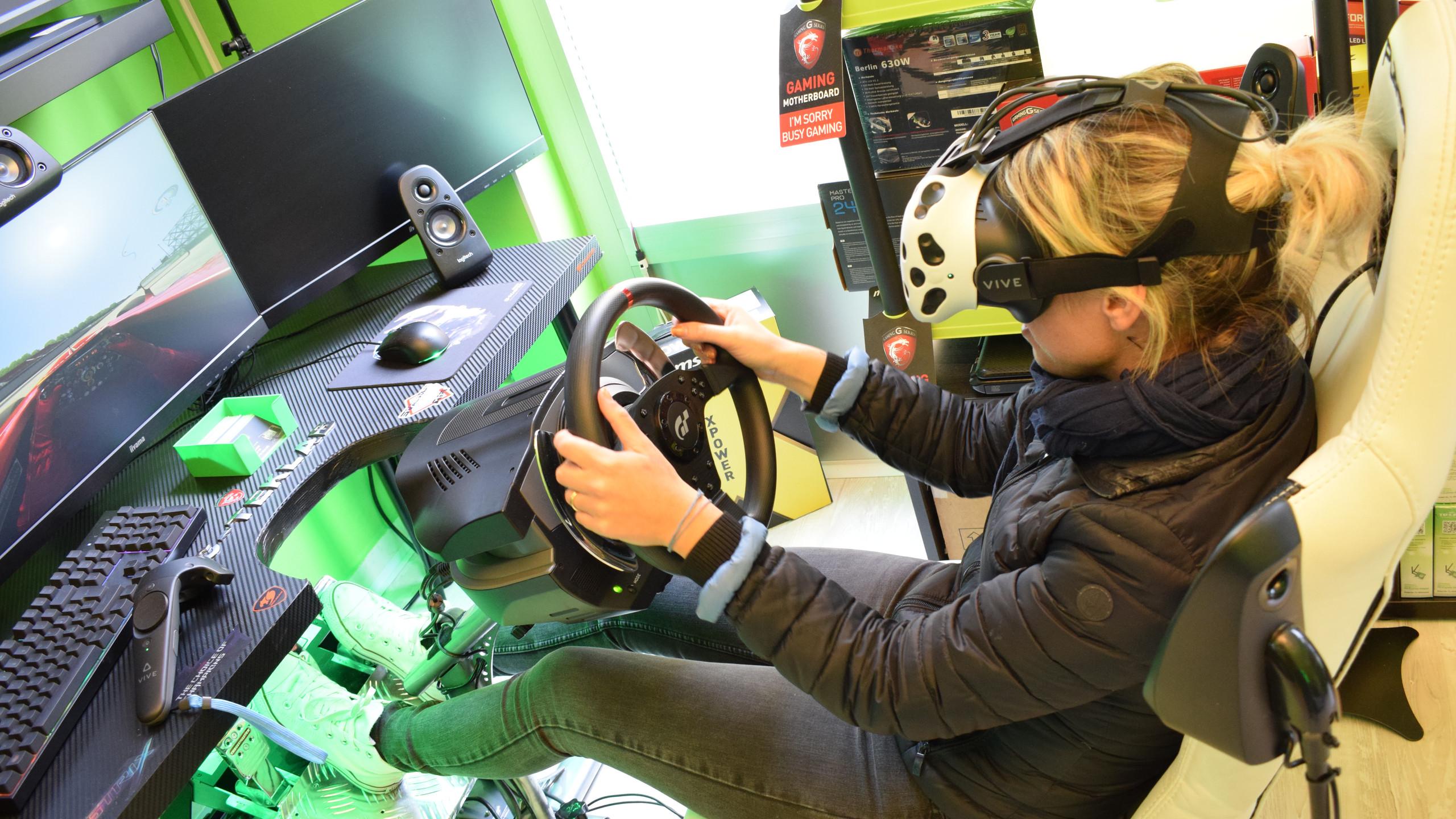 realtà virtuale Melzo, simulatore di