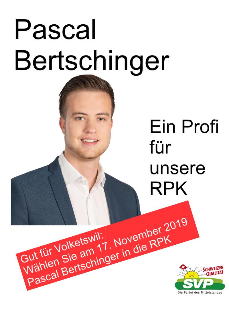 Ersatzwahl Mitglied RPK Volketswil 17. November