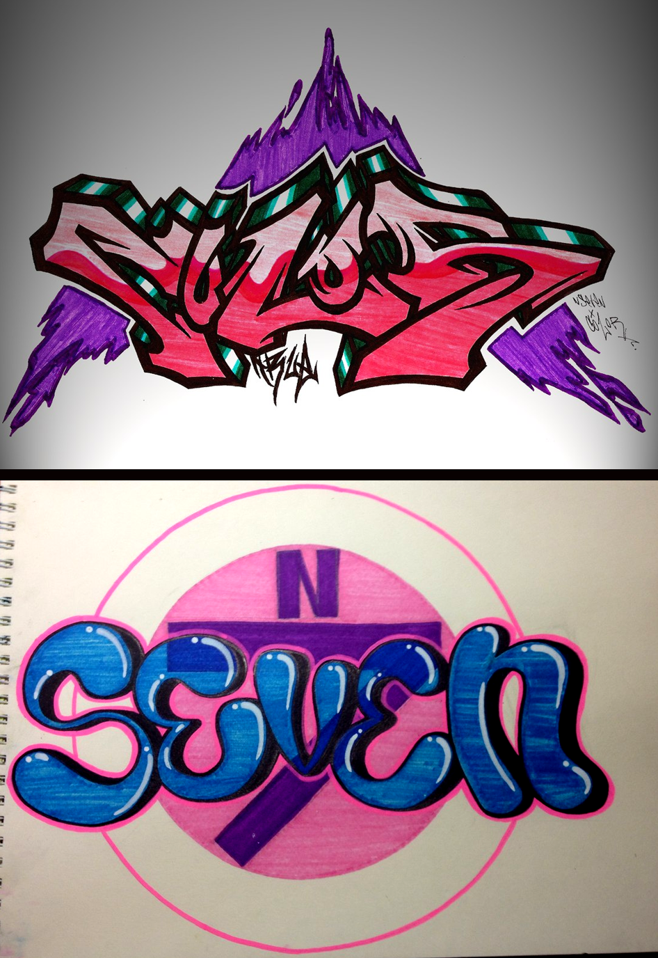 NSEVEN x COLOR