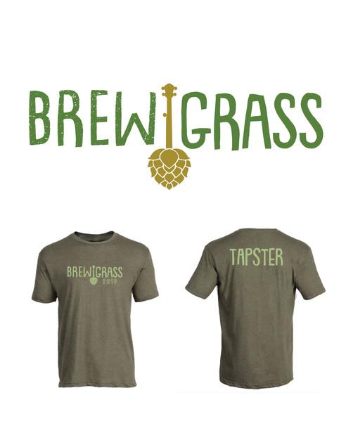 Brewgrass Logo and Shirt Design