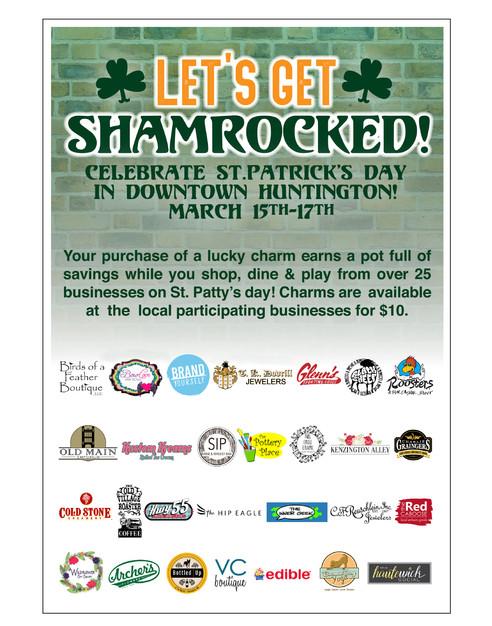 """Shamrocked"" Event Flyer"