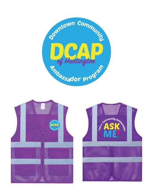DCAP Logo and Vest