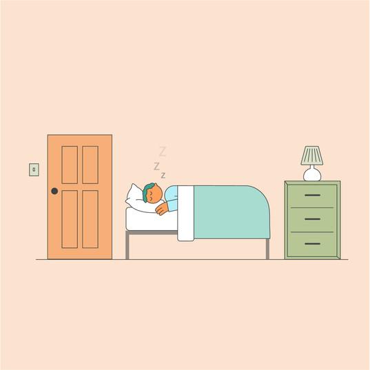Healthcare Illustration: Rest
