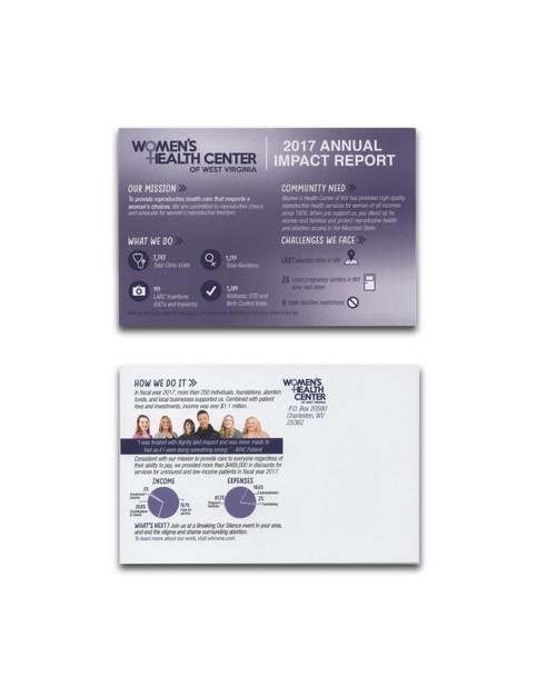 Annual Report Postcard